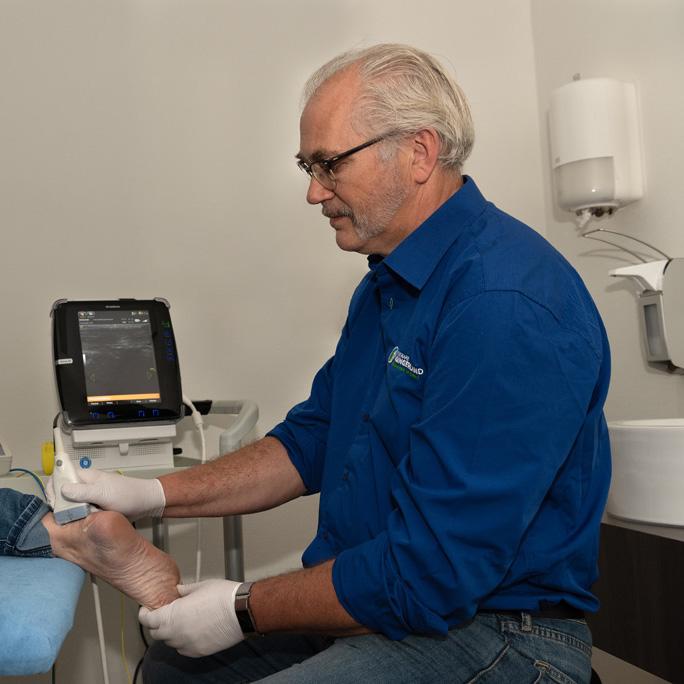 Echografie, fysiotherapie, lansingerland